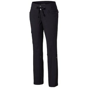 COLUMBIA Woman's Roll Up Pant Black Hiking Outdoor
